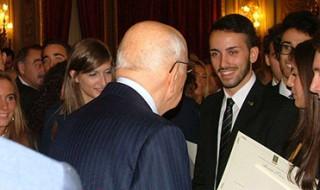 Al giovane Antonio Vita il titolo di Alfiere del lavoro d'Italia