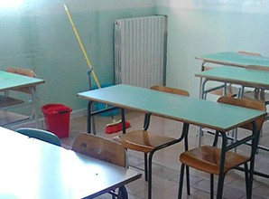 Istituto Comprensivo di Taverna, allagato lo stabile della scuola media di Corso Italia